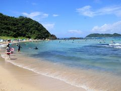 九州の南国パラダイス!牛深 茂串海水浴場