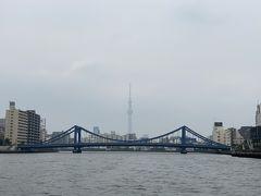 2020年8月 夏休み初日!!神田川クルーズ&日本橋周辺散策