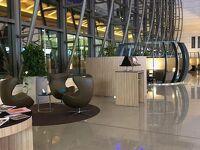 マスカット国際空港のラウンジが素敵でした