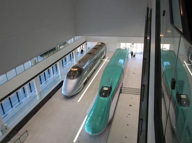2019年2月4日(月)。<br />義父と東北を旅した復路、家内と合流しさいたま市の鉄道博物館を見て回ることに。<br />お目当ては2018年にオープンしたばかりの南館。400系やE1系といった思い入れのある懐かしい新幹線電車の展示を楽しみました。<br /><br />【参考】東北旅行記前編 (ANA739便(大阪伊丹→仙台)はこちら<br />https://4travel.jp/travelogue/11640165<br /><br />東北旅行記後編 (東北大学鉄道研究会60周年記念列車)はこちら<br />https://4travel.jp/travelogue/11640166
