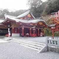 SunQパスで九州5県周遊 5日目その3 祐徳稲荷神社と嬉野温泉