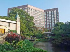 暑くて、都内のホテル椿山荘にとまってみました。