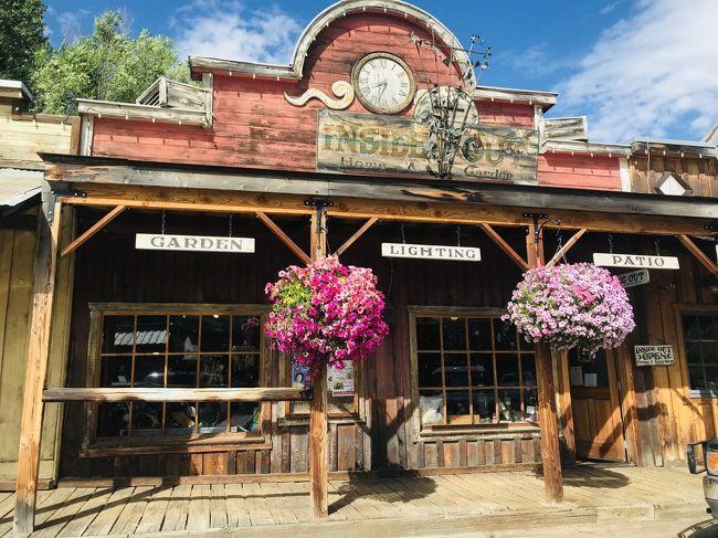 ワシントンモンタナ・大自然の17日間③今旅イチ可愛い町ウィンスロップと、きらきら透明なレイクシュラン
