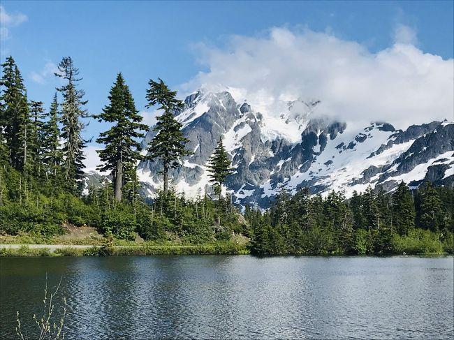 ワシントンモンタナ・大自然の17日間⑥束の間の海辺とノースカスケードの深淵に北上