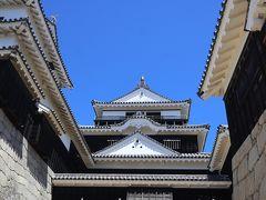 愛媛松山 超ベタに松山城を見学