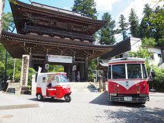 2020.08 樽見鉄道で鉄分補給!(4)蝉の鳴き声を聞きながら、真夏の谷汲山華厳寺を歩こう。