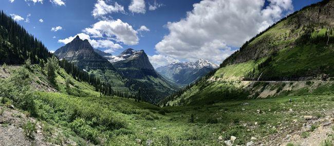 2020年7月5日~21日の17日間、ワシントン州の3つの国立公園(マウントレーニア、ノースカスケード、オリンピックとモンタナ州のグレイシャー国立公園に、私の大好きな雪と緑の山を見に、ドライブにトレッキングにと大周遊してきました。<br />国立公園の間には、ド田舎あり、温泉あり、ラベンダー畑ありとそれぞれの町も満喫しました。<br /><br />---------------<br /><br />総集編です。<br /><br />ワシントン州、モンタナ州、それぞれの国立公園や立ち寄ったそれぞれの町に、思い出が出来ました。<br /><br />山行、長時間のドライブ、大荷物、携帯壊れるなどいろいろ大変なこともありましたが、北西部の素晴らしい自然を大満喫し、無事に帰ってこれてよかったです!