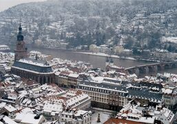 冬の寒いドイツ 2002年正月家族旅行