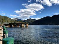 コロラドロッキー国立公園大満喫の4日間③④馬で山を登り、グランドレイクでボート漕ぎ