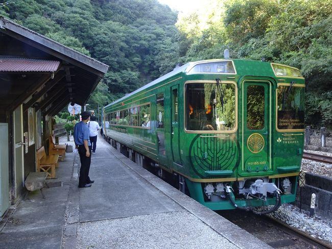 四国ぐるっと観光列車 乗り鉄たび④ 「四国まんなか千年ものがたり」しあわせの郷紀行