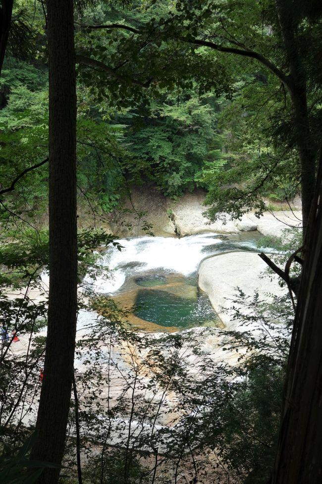 老神温泉はスルー★ 沼田市周遊1日フリー乗車券で30年ぶりの吹割の滝♪ ついでに沼田城跡まで