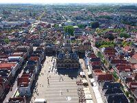 涼しきオランダ・ベルギーの夏(2) デルフトの眺望