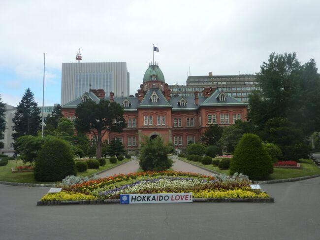 2020年8月5日~8月9日に旅行してきた北海道の道南から道央辺りについて綴ってみました。<br />【方法】<br />道南:観光タクシーを利用<br />道央:公共交通機関を利用<br /><br />主な訪問地や名所は下記の通りです。<br />1.大沼国定公園(七飯町)<br />2.トラピスト修道院(北斗市)<br />3.松前城(松前町)<br />4.松前藩屋敷(松前町)<br />5.旧檜山爾志郡役所(江刺町)<br />6.開陽丸記念館(江刺町)<br />7.洞爺湖(洞爺湖町)<br />8.ウポポイ(白老町)<br />9.札幌市