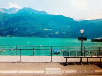 2012年スイス鉄道の旅①ローカル線でチューリッヒから水の街ルツェルンへ