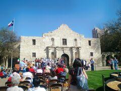 テキサス州 サンアントニオ ー アラモ砦