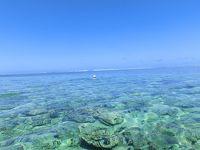 時空旅行「モーリシャス」の青い海
