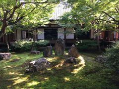 真夏の日帰り一人旅の京都4・安井金比羅宮と建仁寺、ぎおん徳屋のわらび餅