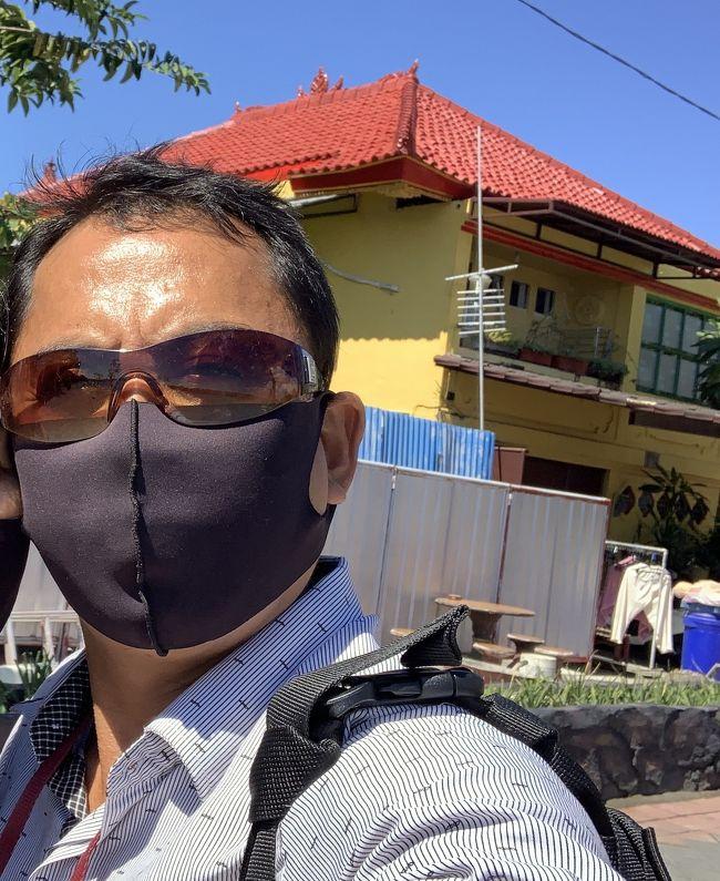バリ島でマスクをしないと罰金100,000ルピアになってしまいました&#128561;<br />コロナ対策に有効があり、収束に近づいたら良いですね!