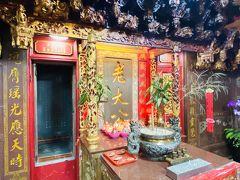 基隆中元祭の由来がある老大公廟