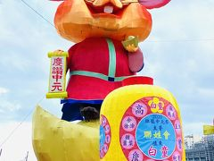 基隆中元祭の街飾り