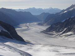 絶景が広がるアルプスの山歩きと鉄道の旅:スイス、リヒテンシュタイン旅行【17】(2019年秋 4日目② 到達! トップオブヨーロッパ)