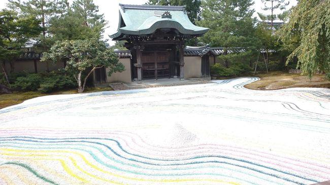 8月に実施された京都の寺社仏閣の朝の御朱印を巡りました。