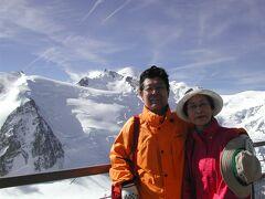 2004年フランス④。凄い!エスカレーターとケーブルで登れますエギュイ・ミデイ。