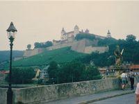 古い写真をスキャン18(ヴュルツブルクの要塞と館とワイン、1992年)