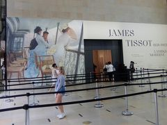 ジェームズ・ティソ展のオルセーへ