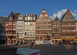 爺のアルザス、ドイツ黒い森地方8日間旅行記①出国、フランクフルトの街歩き