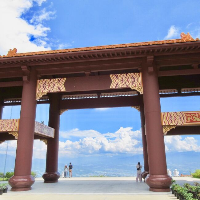 GUNMA Prefectureの台湾☆香港を感じる旅<br /><br />天空の台湾寺院 佛光山法水寺<br /><br />香港茶廊で 飲茶を楽しむ
