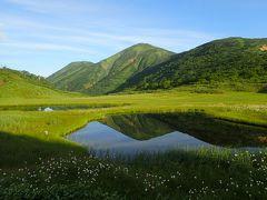 妙高山と火打山:プリン山と逆さ火打