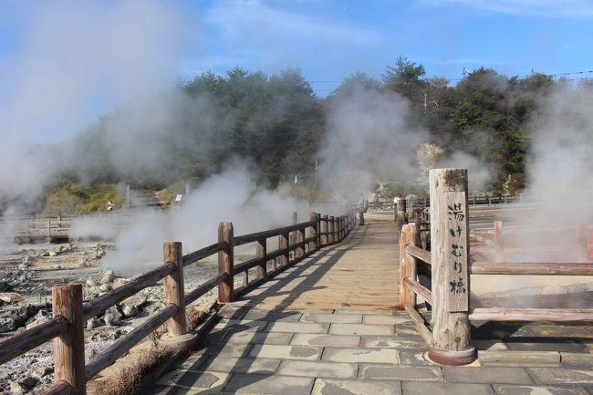 """長崎県南東部、雲仙市の雲仙妙見岳の中腹にある雲仙温泉を訪れました。飛鳥時代の開山以降は修剣の場だった様ですが、江戸時代には宿場が形成され、明治・大正には上海租界の欧米人がやって来るほどの保養地として栄えました。昭和には国民温泉保養地にも指定され、多くの観光客が訪れる様になりました。<br />★温泉ホテルに泊まり、""""雲仙地獄""""をはじめとした周辺散策。<br /><br />[いただいた郷土料理/ご当地グルメ]<br />◎鯛(長崎県は天然鯛の漁獲量日本一)<br />◎千々石の「じゃがちゃん」(長崎県はじゃがいもの収穫量日本で2番目)"""