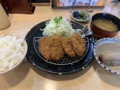 秋田市山王界隈で、豚肉のランチを食べ歩く