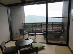 箱根でのんびり(7)箱根小涌園天悠の露天風呂付客室