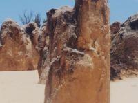 パース3泊2000-2 ピナクルズ=砂漠の奇岩群= ☆ランセリン砂丘=〔SafariTreks〕走破