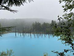 青い池はやっぱり青かった GO TO キャンペーン使ってみた