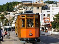 スペイン鉄道の旅 お正月のバルセロナとマヨルカ島(その4 ソーイェル鉄道の車庫見学とトラムに乗ってポルト・デ・ソーイェル)