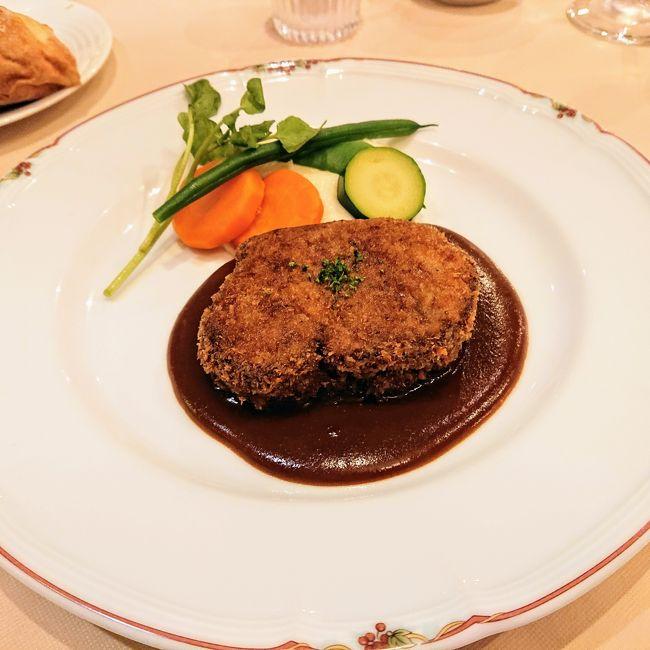 神戸は美味しい。元町でビフカツとコロッケ、神戸一と噂の山親爺のそば切りを食べてきた。