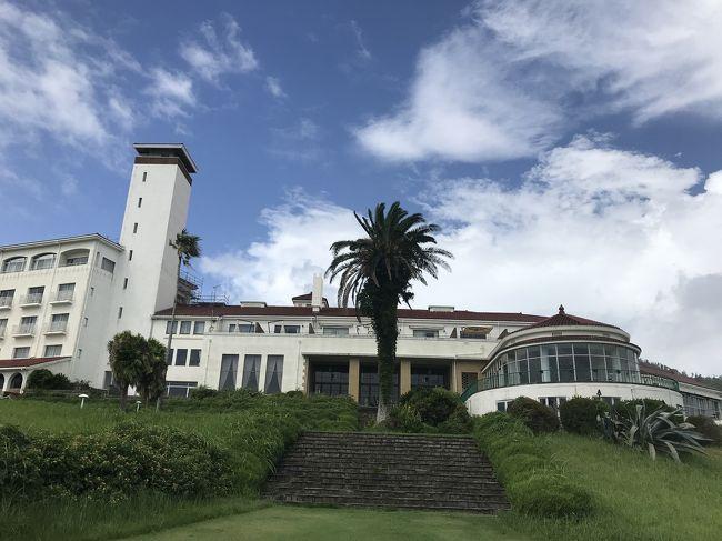 海外旅行のできない今 日本のクラシックホテルを訪ねてみようとの夫の一言。今回は、川奈ホテルに行きました。