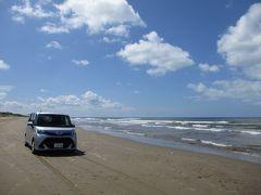 千里浜から時計回りに能登西海岸~輪島~見附島~能登島ドライブ