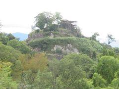 苗木城・天守跡からのパノラマは最高/自然の地形を生かして築かれた山城に感動