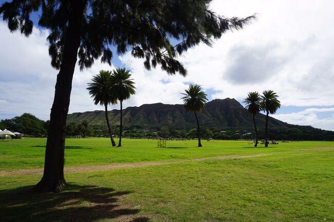 世界でのコロナウイルス感染が拡大する直前、ハワイに行ってきました。<br /><br />今回2度目となるハワイ。前回訪れたときは、初めてということもあり、毎日ツアーに参加して忙しくクタクタになったため、今回はゆーっくりすることを目的に行ってきました。<br /><br />ANA ビジネスクラス旅行<br /><br />モアナサーフライダー3泊、ロイヤルハワイアン2泊です。