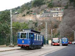スペイン鉄道の旅 お正月のバルセロナとマヨルカ島(その9 クラシックなブルートラムと最新のLRT)