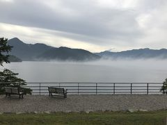 日光の街歩き①雲の中にいるみたいな中禅寺湖畔