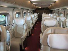 青森の旅② 最初で最後 (^^;  憧れの東北新幹線「はやぶさグランクラス」に乗る