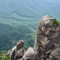 「瑞牆山登山」と「日帰り温泉」