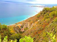 天気がイマイチ 南イタリア、マルタの旅 5日目(ラグーザ→タオルミナ)