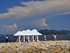 夏の終わり男木島(おぎじま)へ。おもしろ作品が見られる島♪