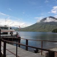 静かな秋の旅:中禅寺湖畔